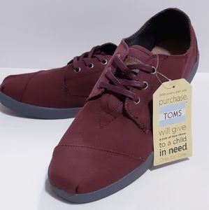 TOMS Wine Canvas Mens Paseos
